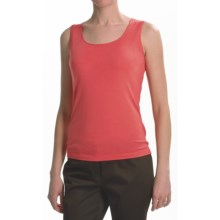 Lafayette 148 New York Jersey Stitch Tank Top (For Women) in Bellini - Closeouts