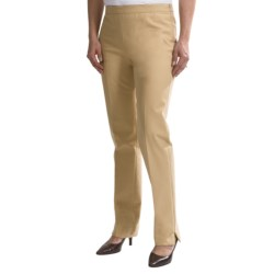 Lafayette 148 New York Jodhpur Cloth Ankle Pants - Stretch Cotton (For Women) in Honeynut