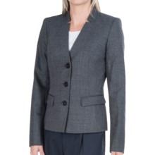 Lafayette 148 New York Kerri Serene Suiting Jacket - Wool-Silk (For Women) in Armada Multi - Closeouts
