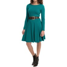 Lafayette 148 New York Knit Dress - Long Sleeve (For Women) in Dragonfly - Closeouts