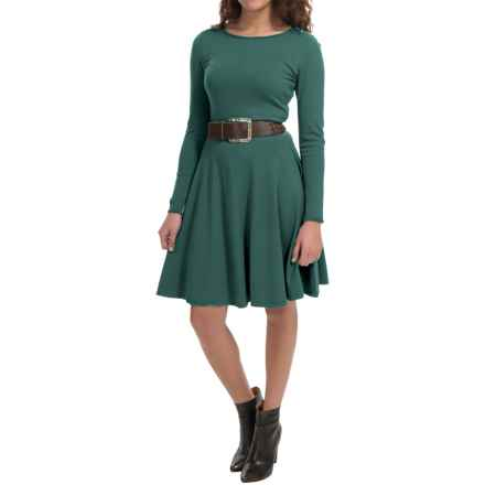 Lafayette 148 New York Knit Dress - Long Sleeve (For Women) in Hemlock - Closeouts