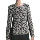 Lafayette 148 New York Leon Majestic Leopard Jacket - Jacquard (For Women)