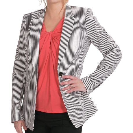 Lafayette 148 New York Mackenzie Jacket (For Women) in Black Multi
