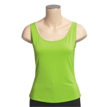 Lafayette 148 New York Matte Jersey Tank Top - Lightweight, Sleeveless (For Women) in Charteuse - Closeouts