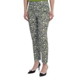 Lafayette 148 New York Mesmerizing Geo Stanton Pants (For Women) in Black Multi