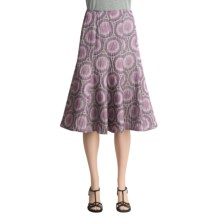 Lafayette 148 New York Morgan Skirt - Aurora Shimmer (For Women) in Cabernet Multi - Closeouts
