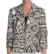 Lafayette 148 New York Parker Starlight Print Jacket (For Women) in Black Multi - Closeouts