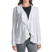 Lafayette 148 New York Pearle Cardigan Sweater - Cotton (For Women) in White - Closeouts