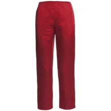 Lafayette 148 New York Reade Duchess Pants - Satin (For Women) in Siren - Closeouts