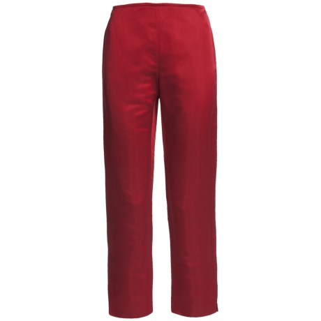 Lafayette 148 New York Reade Duchess Pants - Satin (For Women) in Siren