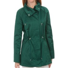 Lafayette 148 New York Shimmer Coat (For Women) in Amazon - Closeouts