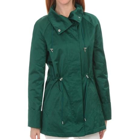 Lafayette 148 New York Shimmer Coat (For Women) in Amazon