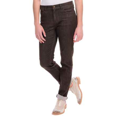 Lafayette 148 New York Skinny Jeans - 5-Pocket, Skinny Leg (For Women) in Espresso - Closeouts