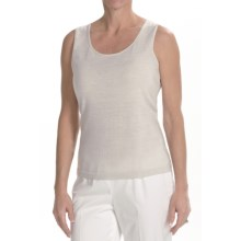 Lafayette 148 New York Vetro Tank Top (For Women) in Natural - Closeouts