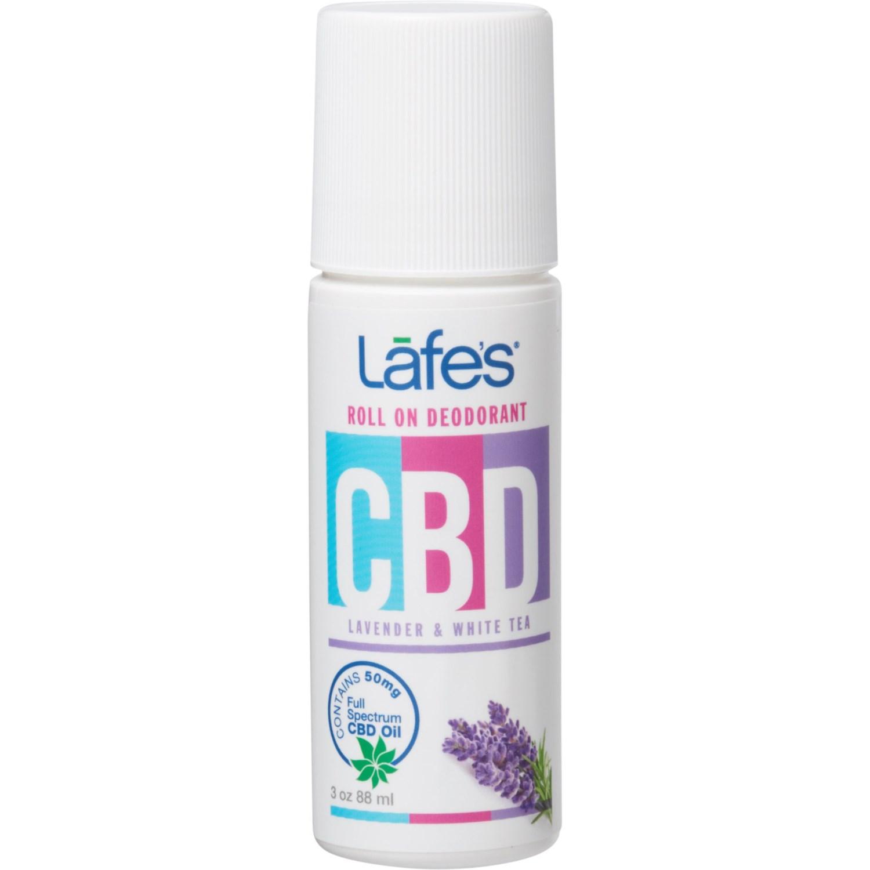 Lafes CBD Lavender and White Tea Deodorant - 3 oz  - Save 33%