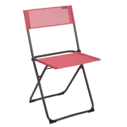 Lafuma Air Comfort Anytime Folding Chair in Rhodo - Closeouts