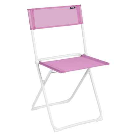 Lafuma Air Comfort Anytime Folding Chair - Set of 2 in Lilas/Blanc - Closeouts