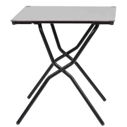 Lafuma Anytime Square Folding Table in Stone/Noir - Closeouts