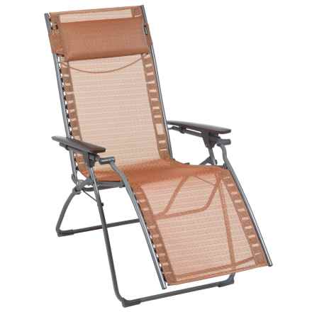 Lafuma Evolution Privilege Zero Gravity Recliner in Cuivre/Titane - Closeouts