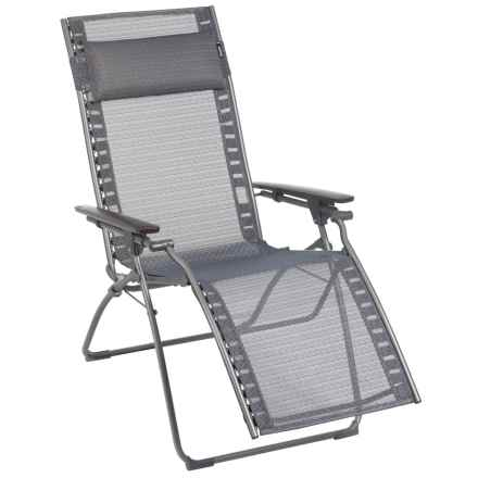 Lafuma Evolution Privilege Zero Gravity Recliner in Saphir/Titane - Closeouts