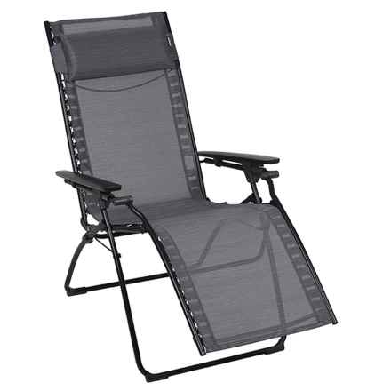 Lafuma Evolution Relaxation Chair in Obsidian - Closeouts