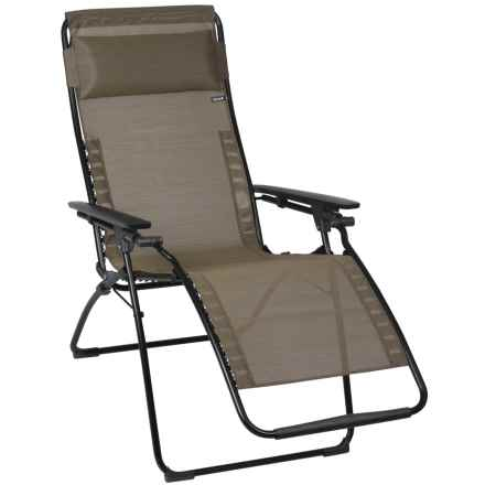 Lafuma Futura XL Zero Gravity Chair in Bronze/Noir - Closeouts