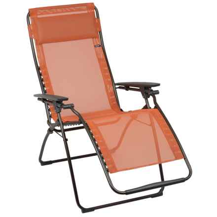 Lafuma Futura Zero Gravity Chair in Potiron/Marron - Closeouts