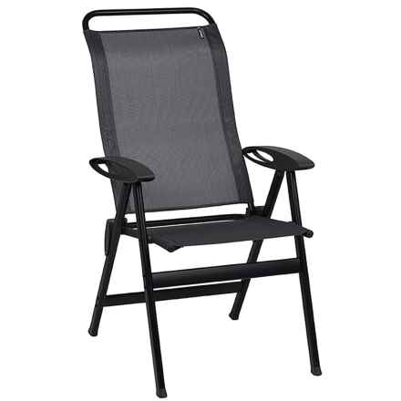 Lafuma Lounge Elips Camping Armchair in Obsidian - Closeouts