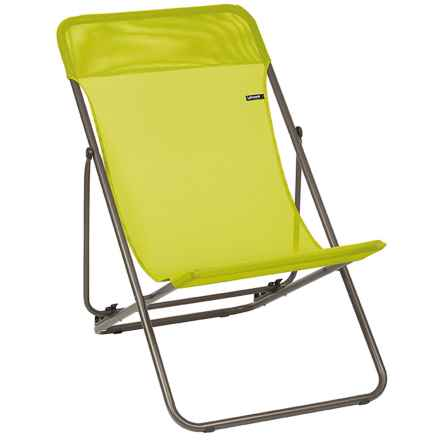 Lafuma Maxi Transat Folding Sling Chair in Papageno - Closeouts
