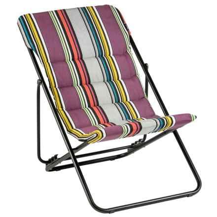 Lafuma Maxi Transat Lounge Chair in Icon Mystic - Closeouts