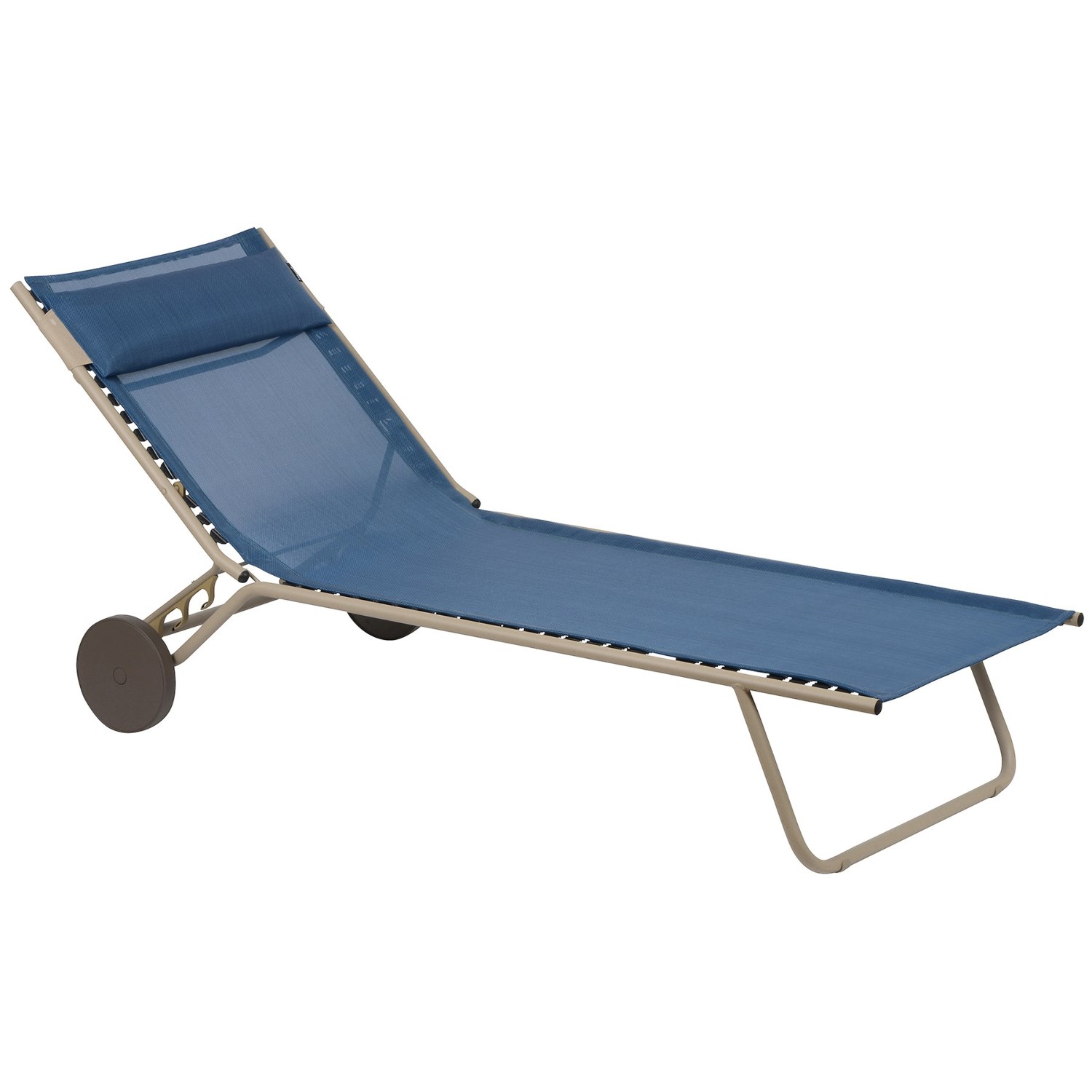 Lafuma miami sun bed folding chaise lounge chair save 64 - Chaise pliante lafuma ...