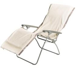 "Lafuma RSX XL Chair Towel - 72x26"" in Ecru Cream"
