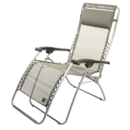 Lafuma RSXA Folding Recliner in Forest - Closeouts