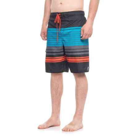 Impact Zone Boardshorts - UPF 50 (For Men) in Charcoal - Closeouts