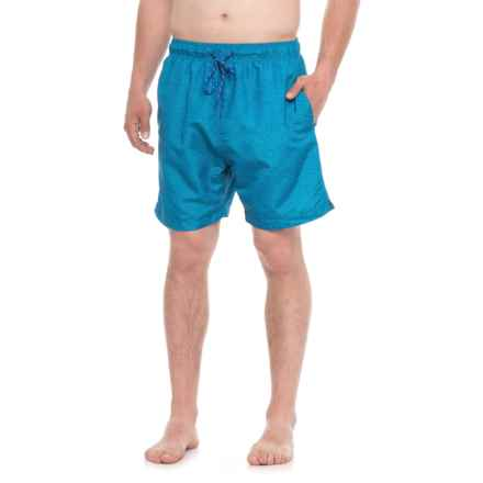 New Islander Swim Trunks - UPF 50 (For Men) in Blue/Heather - Closeouts