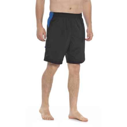 Sand Piper Swim Trunks - UPF 50 (For Men) in 001 Black - Closeouts