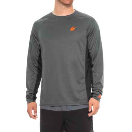 Surf Beat Rash Guard - UPF 50, Long Sleeve (For Men) in 019 Charcoal - Closeouts