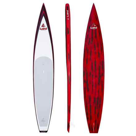 "Laird LXR Carbon/PVC Stand-Up Paddle Board - 12'6"" in White/Red/Black - Closeouts"