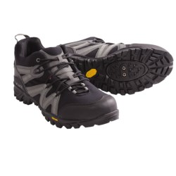 Lake Cycling MX100 Cycling Shoes - SPD (For Men) in Black/Grey
