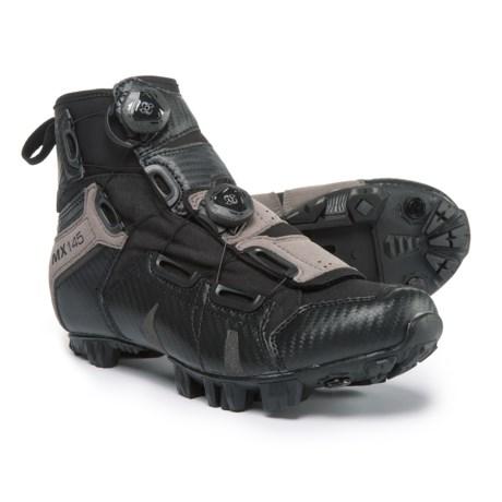Lake Cycling MX145 Mountain Bike Shoes - SPD (For Men) in Black/Grey