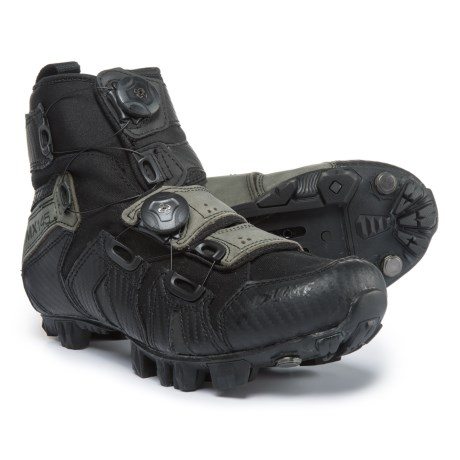 Lake Cycling MX145 Mountain Bike Shoes - SPD (For Men) in Black/Olive