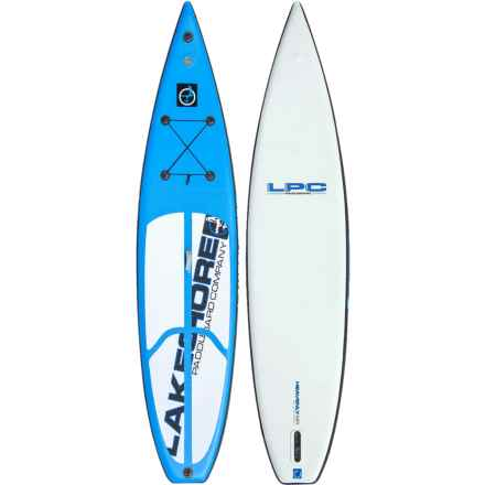 "Lakeshore Paddleboard Company Heavenly Air Inflatable Stand-Up Paddle Board Package - 12'6"" in See Photo - Closeouts"