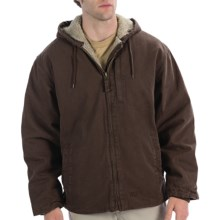 Lakin McKey Berber Lined Jacket - Hooded (For Men) in Dark Brown - Closeouts