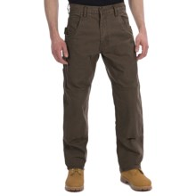Lakin Mckey Canvas Duck Dungaree Work Pants - Relaxed Fit (For Men) in Brown - Closeouts