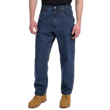 Lakin Mckey Flannel-Lined Denim Jeans - Relaxed Fit (For Men) in Dark Denim - Closeouts