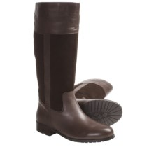 Lamo Brittany Tall Boots - Suede-Leather, Sheepskin-Lined (For Women) in Chocolate - Closeouts