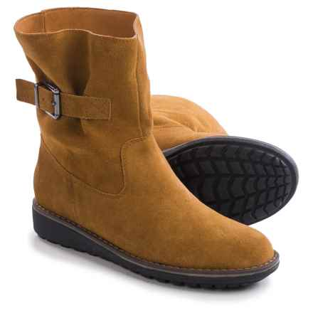 LAMO Footwear Blue Grass Boots - Suede (For Women) in Chestnut - Closeouts