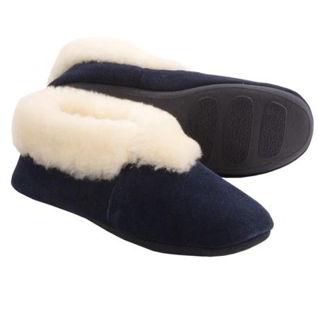 LAMO Footwear Carmen Sheepskin Slippers Suede For Women
