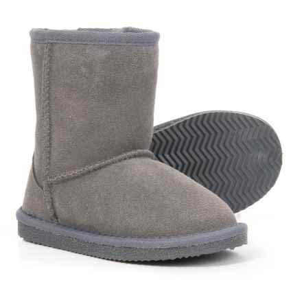 LAMO Footwear Classic Boots - Slip-Ons (For Girls) in Charcoal - Closeouts