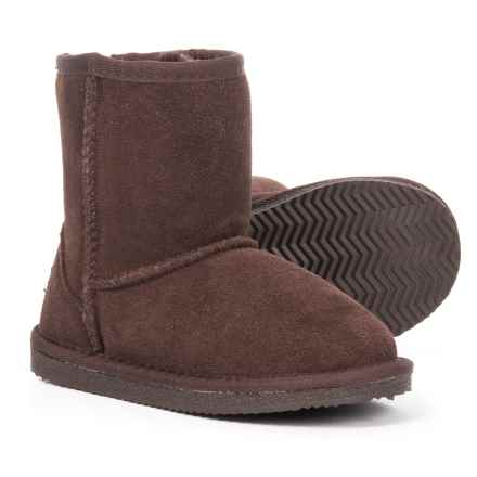 LAMO Footwear Classic Boots - Slip-Ons (For Girls) in Chocolate - Closeouts